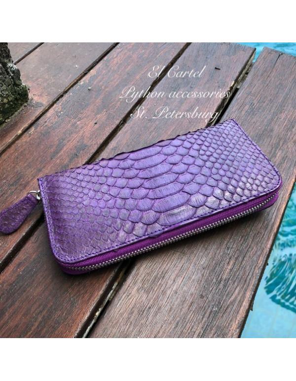 Фиолетовый кошелек